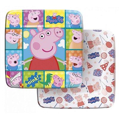 Prato de Papel - Peppa Pig - 08 unidades