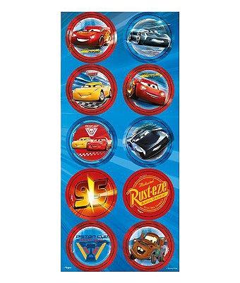 Adesivos Decorativo Cars Disney