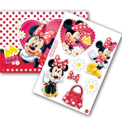 Kit Painel Decorativo - Minnie Vermelha
