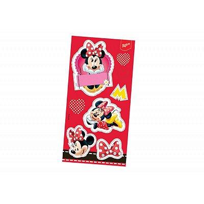 Adesivo para Lembrança - Minnie Vermelha - 03 cartelas