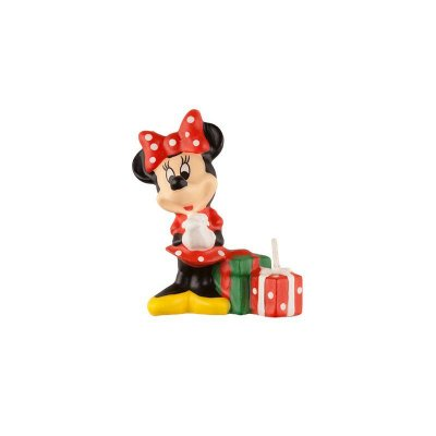 Vela de Aniversário 3D - Minnie Vermelha