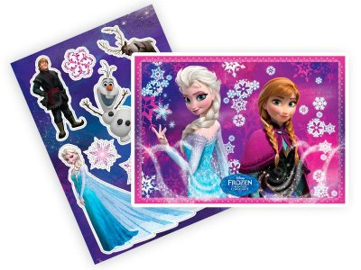 Kit Painel Decorativo Cartonado Frozen Disney
