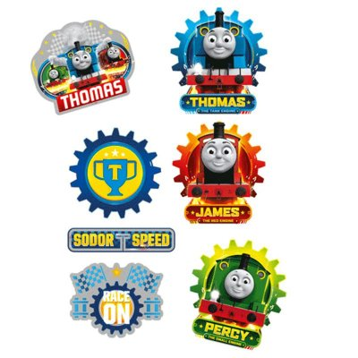 Mini Personagens Decorativos Thomas e Seus Amigos