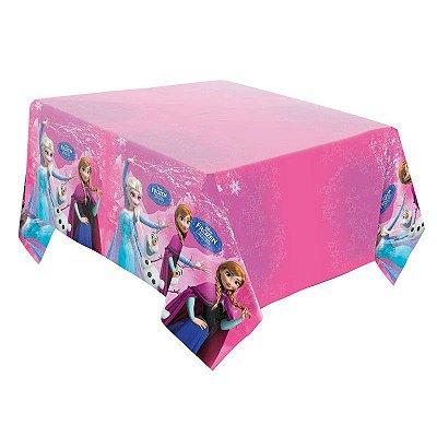 Toalha de Mesa Plástica Descartável Frozen Disney