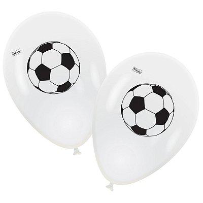 Balão Futebol 9 Polegadas