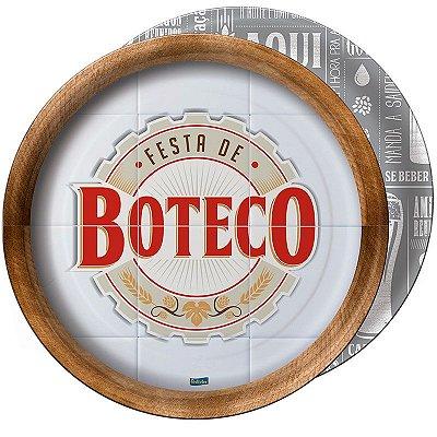 Prato de Papel - Boteco - 08 unidades