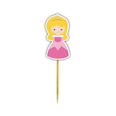 Enfeite Para Cupcake Princesa Bela Adormecida