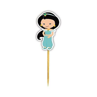 Enfeite Para Cupcake Princesa Jasmine