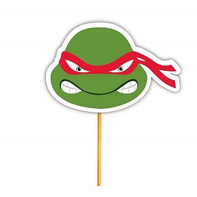 Enfeite Para Cupcake Tartaruga Raphael