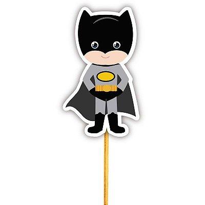 Enfeite Para Cupcake Herói Batman