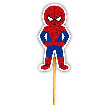 Enfeite Para Cupcake Herói Homem Aranha