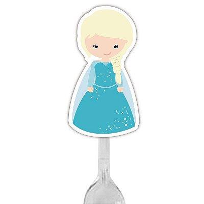 Colherzinha Para Brigadeiro Princesa do Gelo