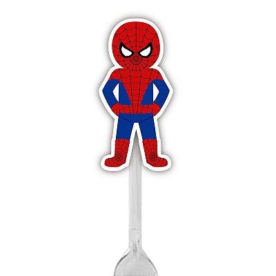 Colherzinha Para Brigadeiro do Super Herói Homem Aranha