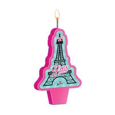 Vela de Aniversário Paris