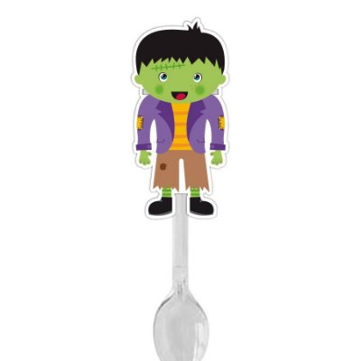 Colher para Brigadeiro Frankenstein Halloween - 12 und