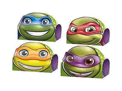 Caixa Surpresa - Tartarugas Ninja Kids - 08 unidades
