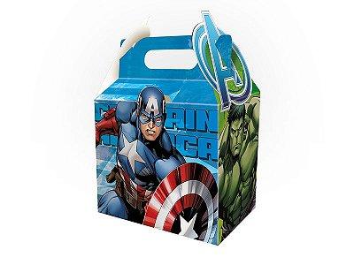 Caixa Surpresa - Os Vingadores Animated - 08 unidades