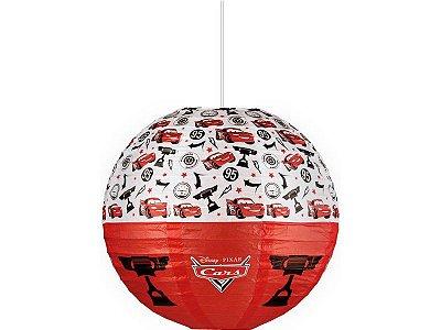 Lanterna de Papel Cars  30cm
