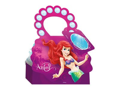 Kit Caixa Surpresa - Ariel, A Pequena Sereia - 05 pacotes