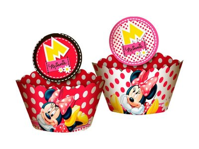 Saia para cukcake Minnie