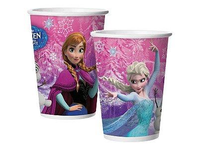 Copo de Papel 180ml - Frozen - 08 unidades