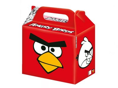 Caixa Surpresa - Angry Birds - 08 unidades