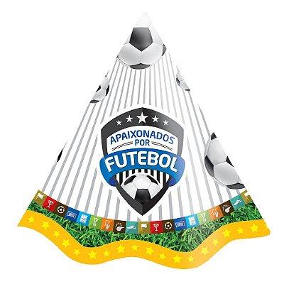 Chapéu de Aniversário - Apaixonados Por Futebol - 08 und