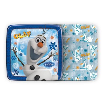 Prato de papel - Olaf