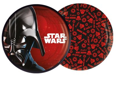 Prato de Papel - Star Wars Clássico - 08 unidades