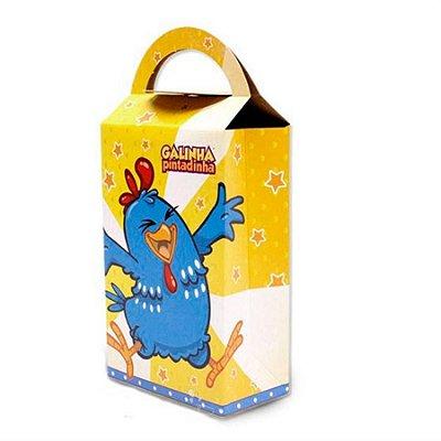 caixa surpresa Galinha Pintadinha