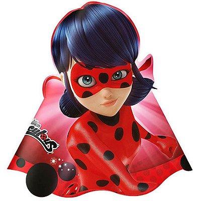 Chapéu de Aniversário - Ladybug - 08 unidades