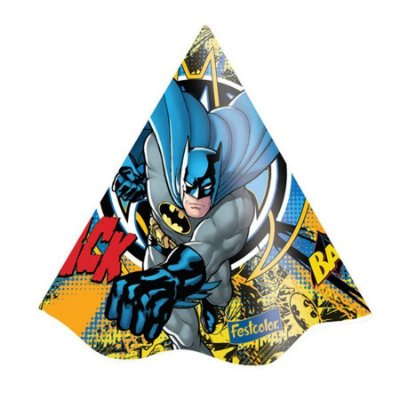 Chapéu de Aniversário - Batman New - 08 unidades
