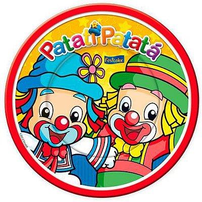 Prato de Papel - Patati Patata - 08 unidades