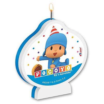 Vela de Aniversário Pocoyo