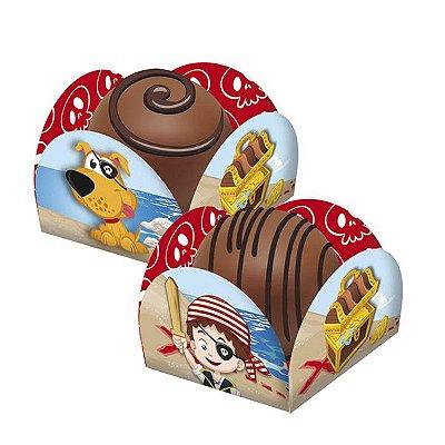 Porta Forminha para doces- Piratas -  40 und