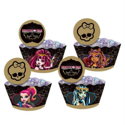 Saia para cukcake Monster High