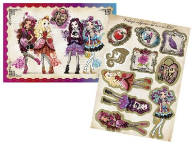 Kit Painel Decorativo Ever after High