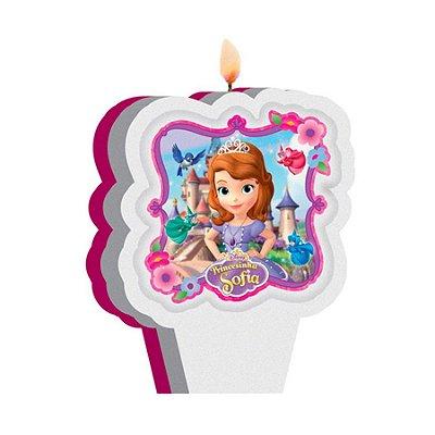 Vela de Aniversário Princesinha Sofia