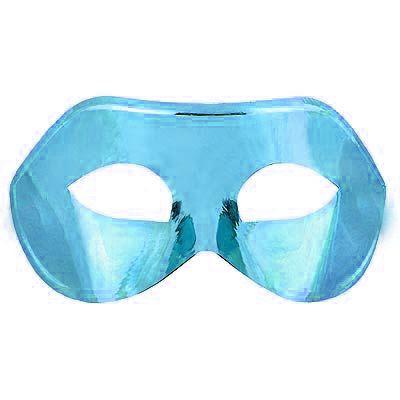 Máscara Veneza Simples Azul Claro