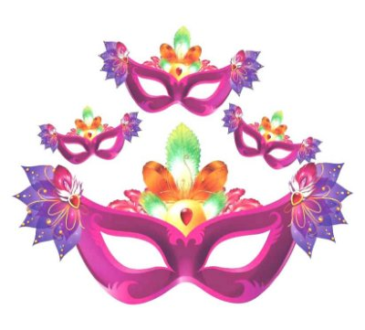 Kit Painel Máscara Carnaval