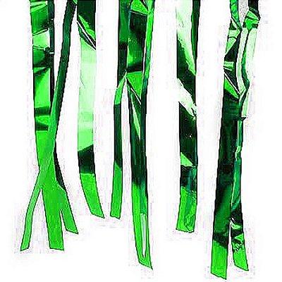 Varal de Fitas Metalizado Verde