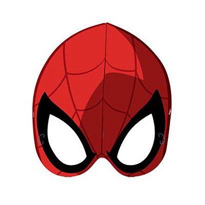 Máscara do Homem Aranha 6 unidades