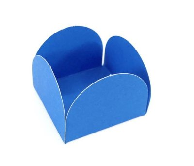 Porta Forminha Azul Royal- 50 unidades