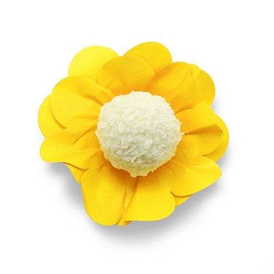 Porta Forminha Flor Amarelo