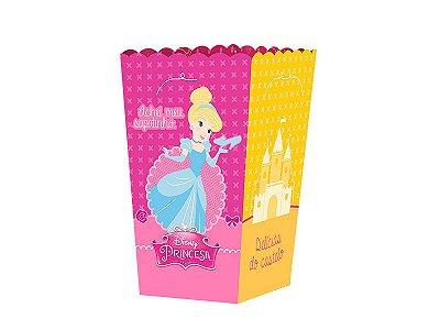Kit Mini Caixa Pipoca - Princesinhas Disney - 02 pacotes