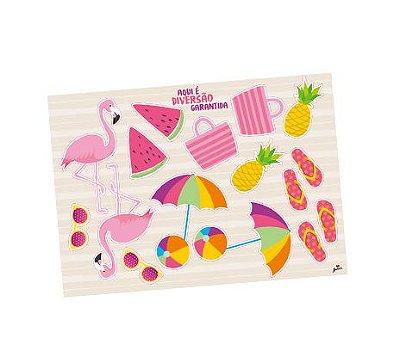 Kit Decorativo - Tropical