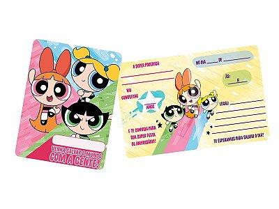 Kit Convite - Meninas Super Poderosas - 03 pacotes