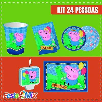 Kit Festa George Pig 24 pessoas
