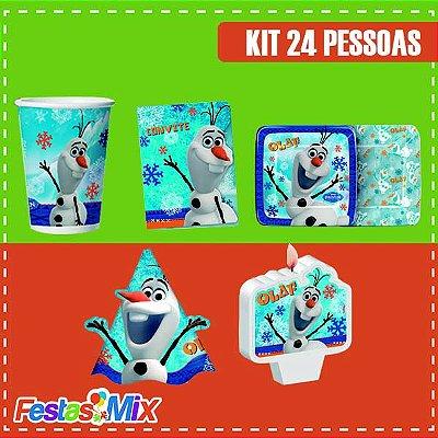 Kit Festa Olaf 24 pessoas