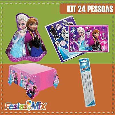 Kit Festa Frozen - 24 pessoas